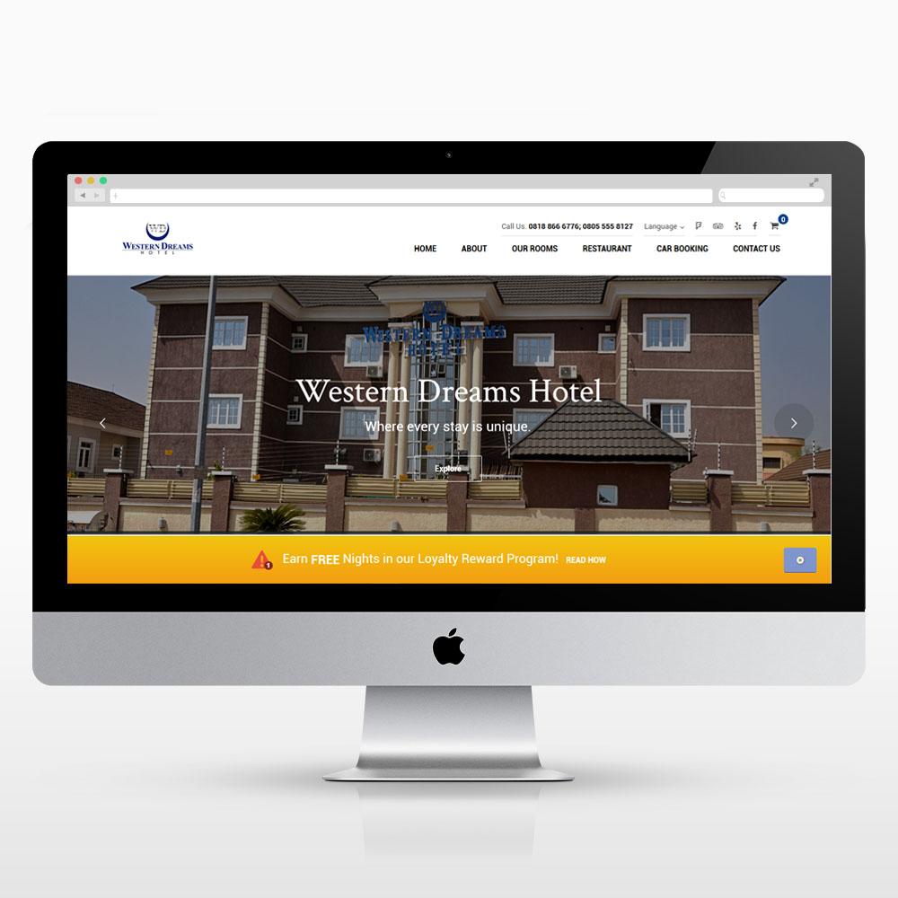 westerndreamshotel.com